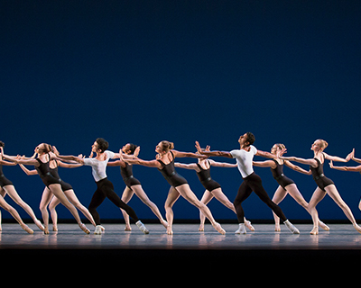 New York City Ballet performing George Balanchine's The Four Temperaments. Photo Credit: Paul Kolnik